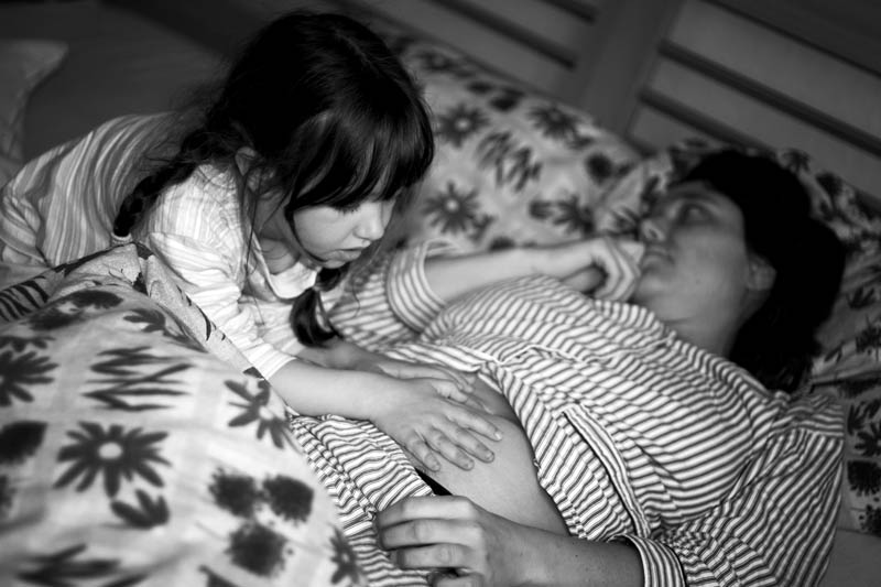 "фото ""Baby in arrivo"" метки: черно-белые, портрет,"