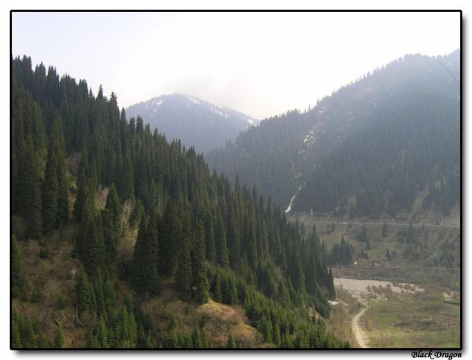 """photo """"Almaty (2005) - Alatau"""" tags: landscape, travel, Asia, mountains"""