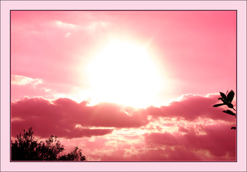 "photo ""Pink clouds"" tags: landscape, clouds"