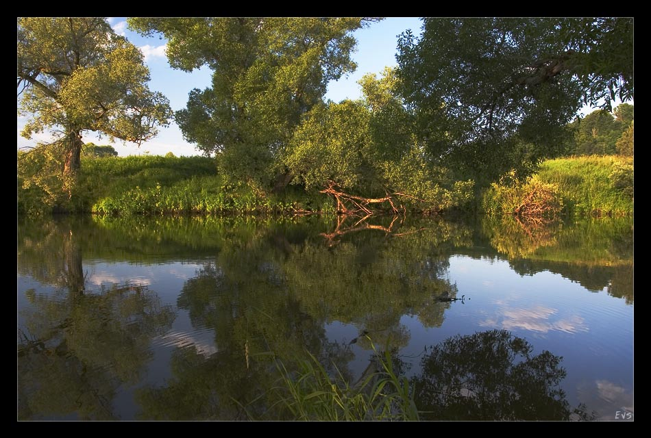 "photo ""In the summer evening..."" tags: landscape, nature, water"