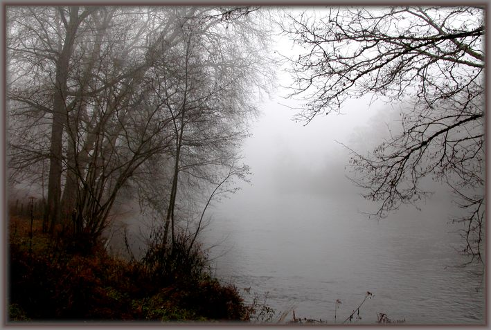 "photo ""Fogs and mists - 05"" tags: landscape, clouds, water"