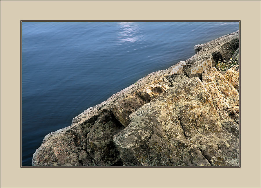 "photo ""stones on a decline..."" tags: nature, misc.,"