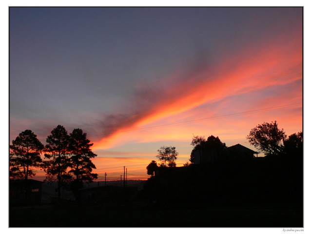 "photo """"Sunset"""" tags: landscape, sunset"