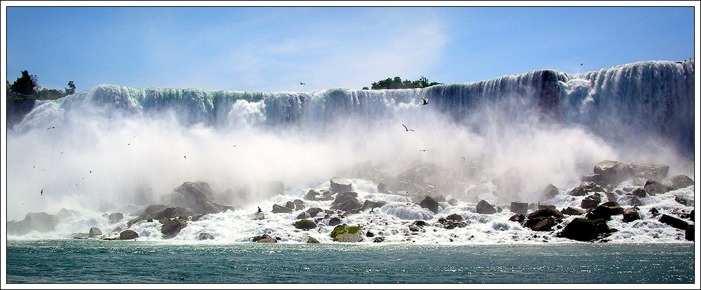 "photo ""Niagara Folls"" tags: landscape, travel, North America, water"