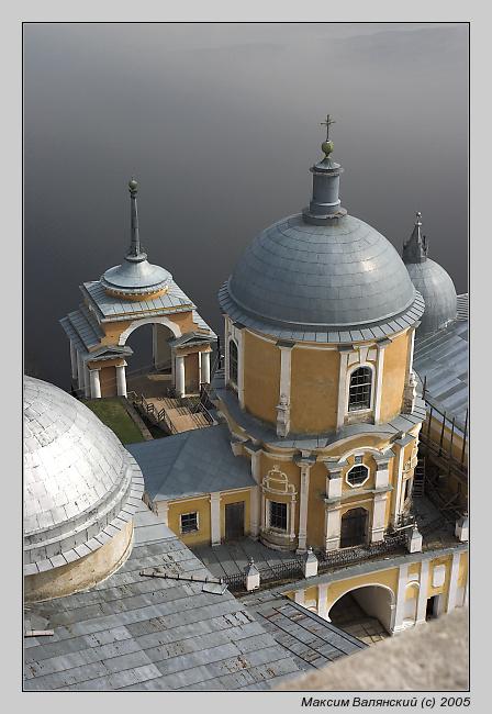 """фото """"Нилова Пустынь"""" метки: архитектура, путешествия, пейзаж, Европа"""