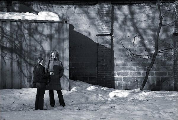 """photo """"Yards #21"""" tags: genre, architecture, landscape,"""