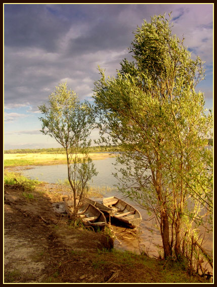 "photo ""Inflow of Volga"" tags: landscape, water"