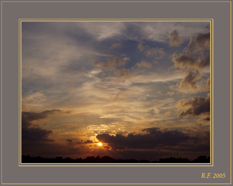 "photo ""Sunset"" tags: landscape, sunset"