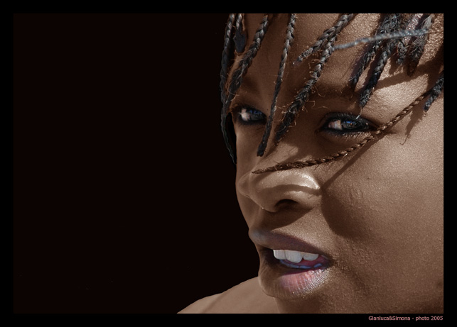 "photo ""namibian portrait"" tags: portrait, travel, Africa, woman"