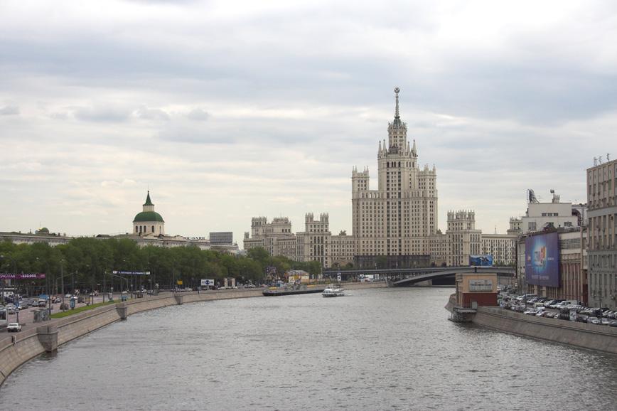 """photo """"Stalin's Skyscraper"""" tags: architecture, landscape,"""