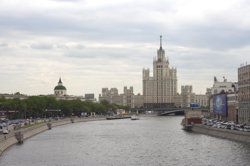 "фото ""Stalin's Skyscraper"" метки: архитектура, пейзаж,"