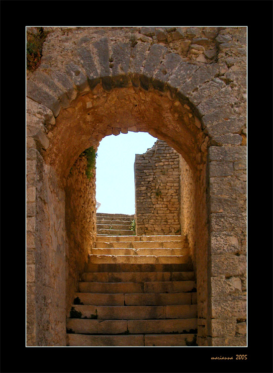 "photo ""Stairway"" tags: architecture, travel, landscape, Africa"