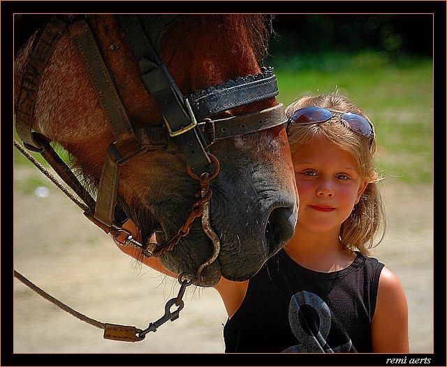 """фото """"big friends"""" метки: портрет, природа, дети, домашние животные"""