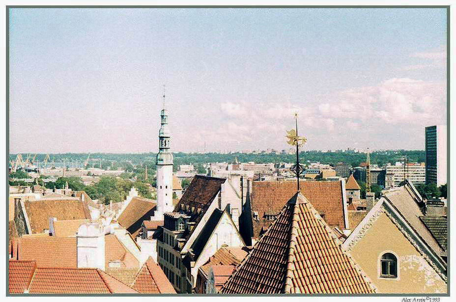 "photo ""Roofs of Tallinn"" tags: reporting, genre,"