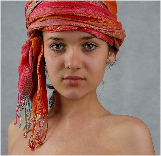 "photo ""The Beduin's daughter 2"" tags: portrait, woman"