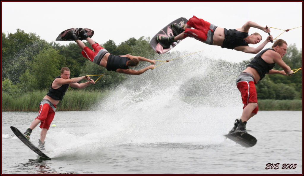 "photo ""Wake Boarding"" tags: sport, montage,"