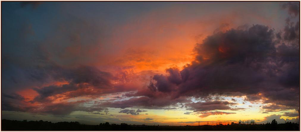 """фото """"После заката"""" метки: пейзаж, закат"""