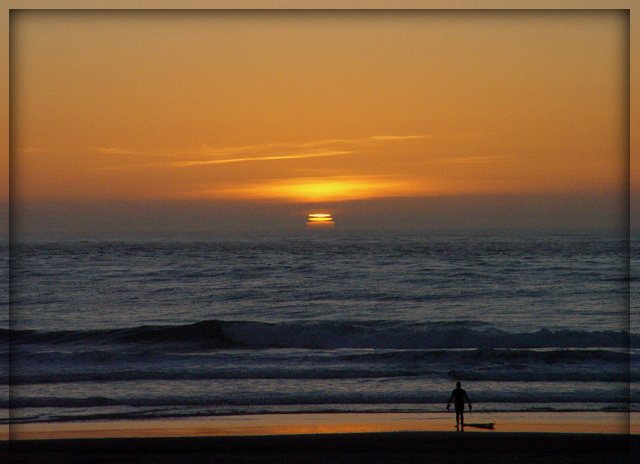 "photo ""Sunset in San Francisco"" tags: landscape, sunset"