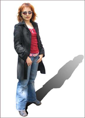 "photo ""Self-portrait Svetlana Light and darkness"" tags: PF life, portrait, woman"