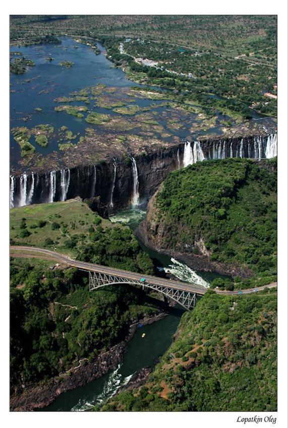 """фото """"Водопад Виктория, Зимбабве 3"""" метки: путешествия, пейзаж, Африка"""