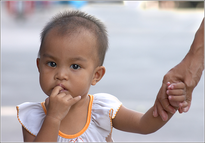 "photo ""Black eyed peas"" tags: portrait, children"