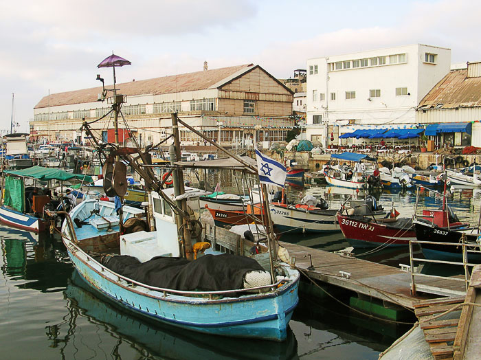 "photo ""Fishing port in Yaffo"" tags: travel, genre, Asia"