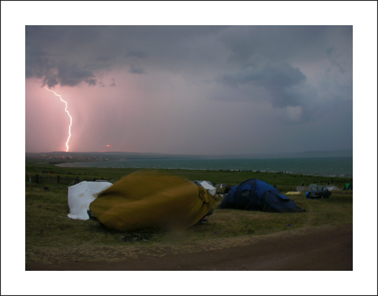 "photo ""Thunder-storm"" tags: landscape, summer"