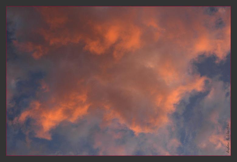 "photo ""Dragon Flight"" tags: landscape, clouds, sunset"