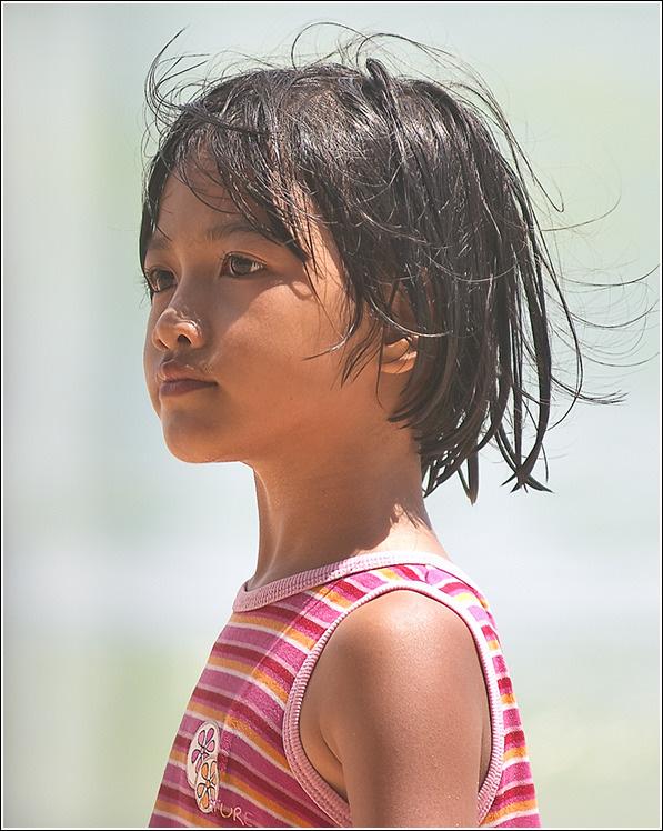 "photo ""Thaigirl"" tags: portrait, children"
