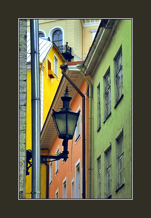 "photo ""Old city geometry"" tags: architecture, travel, landscape, Europe"