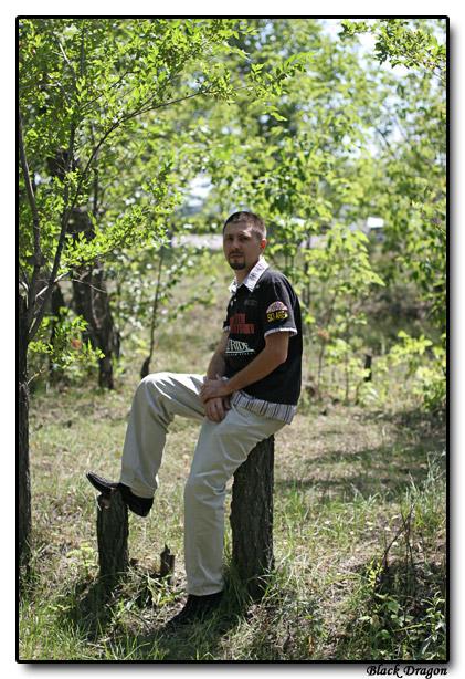 "photo ""The Black Dragon"" tags: PF life, portrait, man"