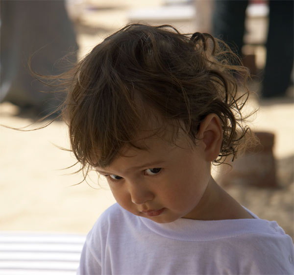 """photo """"Diana"""" tags: portrait, montage, children"""