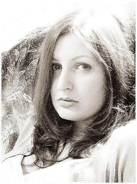 """фото """"Грустно"""" метки: портрет, черно-белые, женщина"""