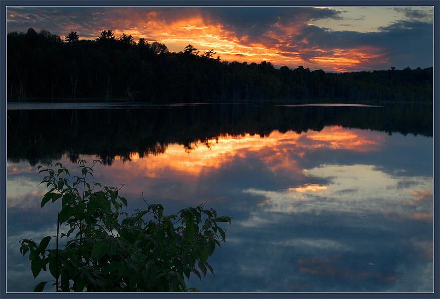 "фото ""Совершенно летий вечер"" метки: пейзаж, закат, лето"