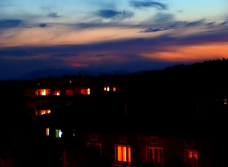 """фото """"Ноцх над городу/Night town/"""" метки: пейзаж, ночь"""
