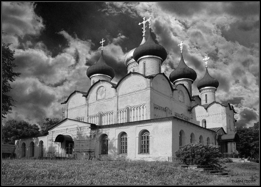 """фото """"Спасо-Преображенский собор (г. Суздаль)"""" метки: архитектура, пейзаж,"""
