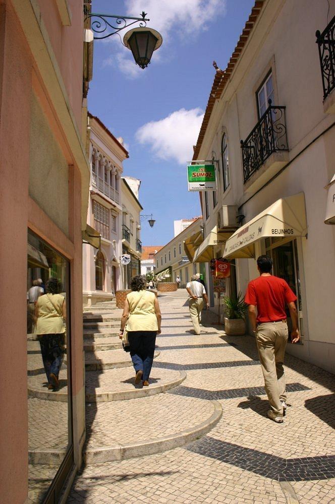 "фото ""Street in Caldas da Raнnha"" метки: путешествия, Европа"