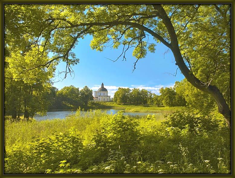 "photo ""In Oranienbaum park"" tags: landscape, travel, Europe, summer"