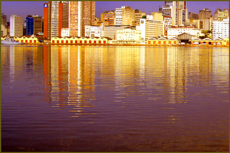 "photo ""docks of porto alegre"" tags: montage, architecture, landscape,"