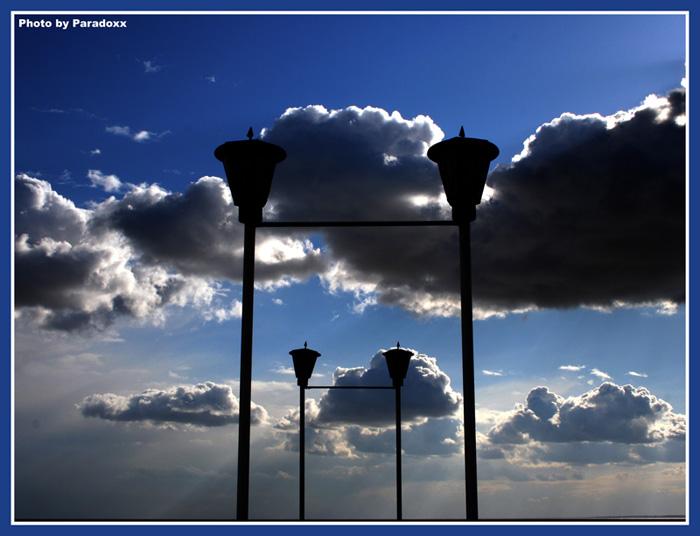 """photo """"Dusk"""" tags: genre, landscape, clouds"""