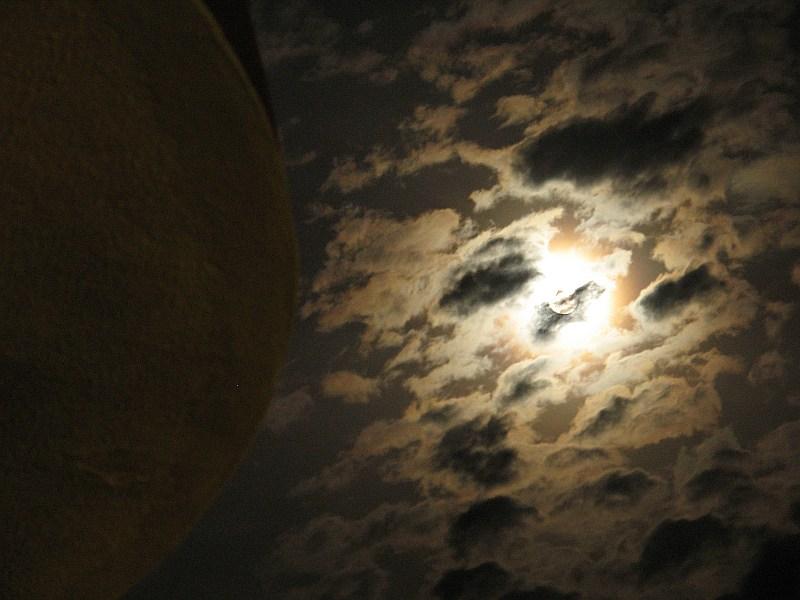 "фото ""Луна и балкон"" метки: пейзаж, ночь"