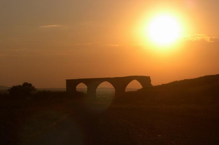 "фото ""немецкий мост / закат"" метки: пейзаж, закат"