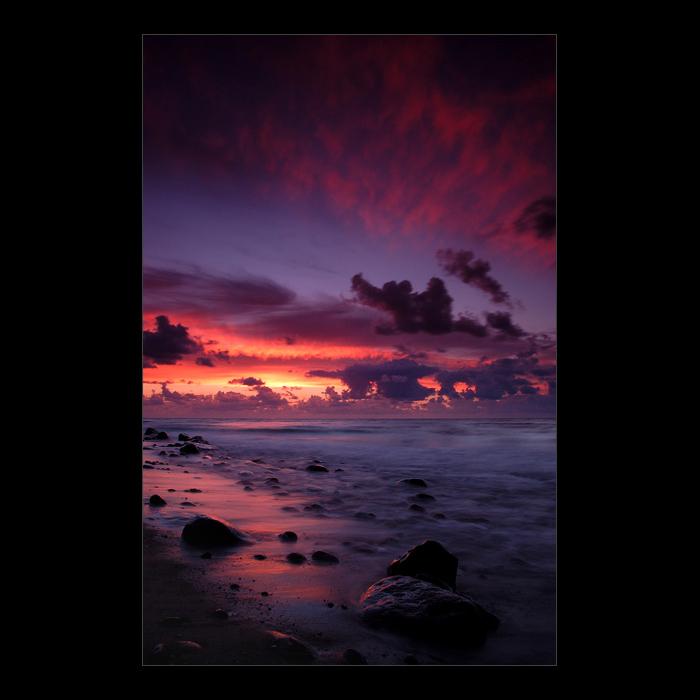 """фото """"..."""" метки: пейзаж, закат, облака"""