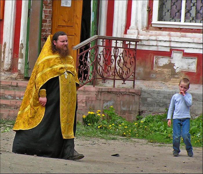 """photo """"The priest"""" tags: portrait, genre, man"""