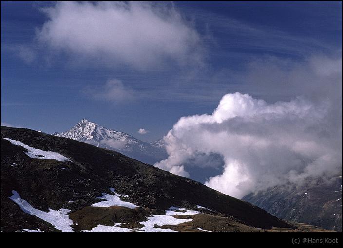 """photo """"Le Rateau d'Aussois"""" tags: landscape, clouds, mountains"""
