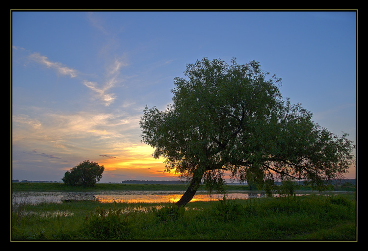 "photo ""Paints of the new Day"" tags: landscape, summer, sunset"