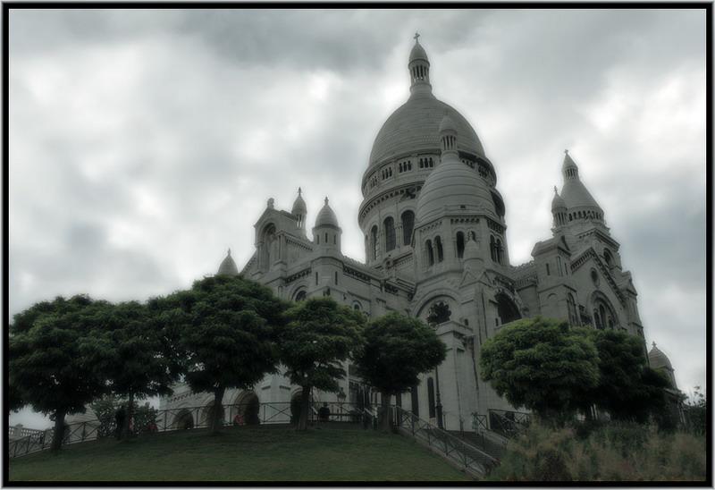 "photo ""Sacre Coeur"" tags: travel, architecture, landscape, Europe"