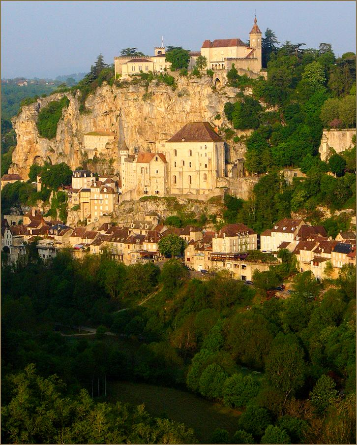 "photo ""Rocamadour"" tags: travel, architecture, landscape, Europe"