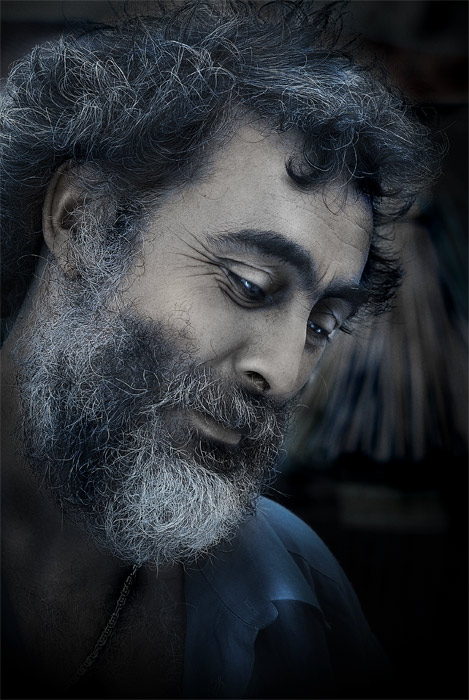 "photo ""King of sorrow"" tags: portrait, man"