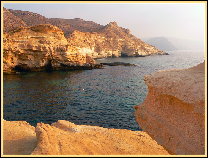 "photo ""The Cabo de Gata 1"" tags: landscape, mountains, water"